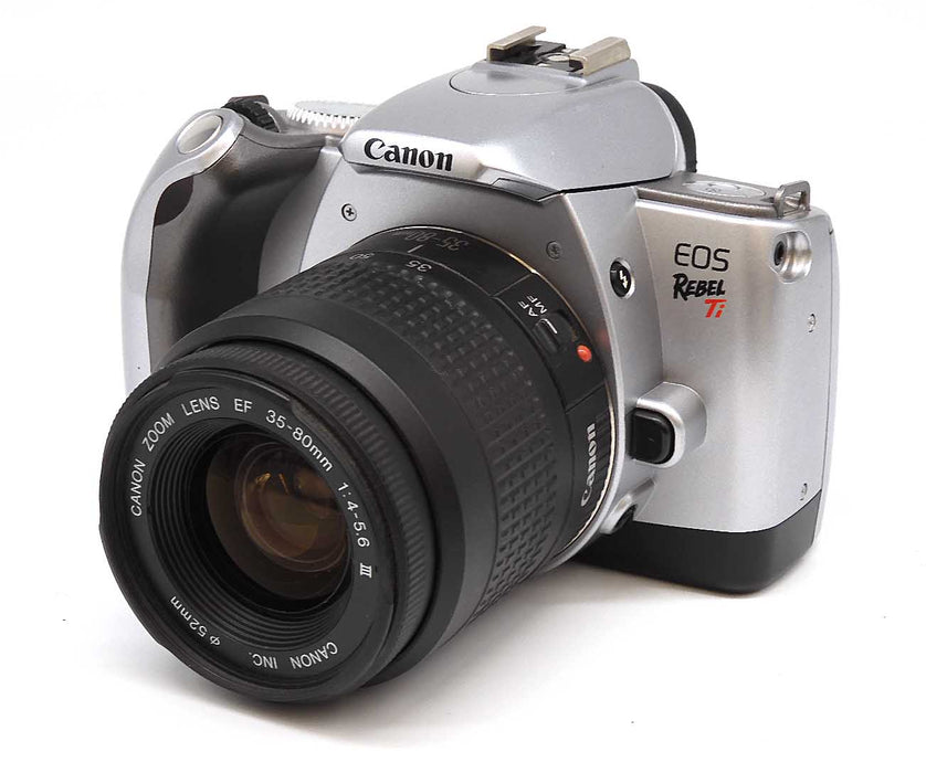 Canon EOS Rebel Ti SLR Film Camera with Canon EF 35-80mm f4-5.6