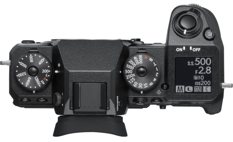 FUJIFILM X-H1 Mirrorless Camera with Vertical Power Grip
