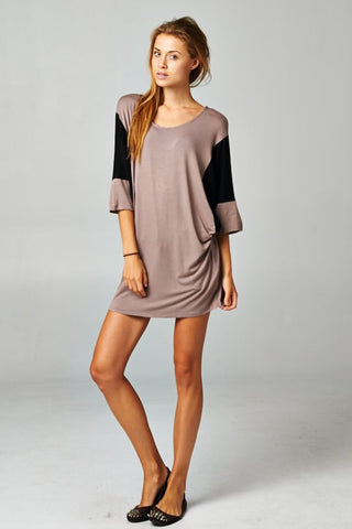 Color Block Tunic dress