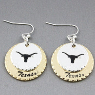"""Hook 'em"" Earrings"