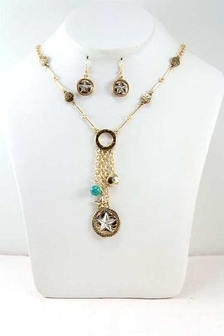 Lone Star Necklace Set