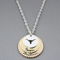 """Hook 'em"" Necklace"