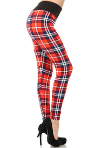 """Super Cute"" Plaid Leggings"