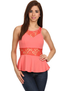 Lace Sweetheart  Top