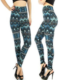Blue Diamond Leggings