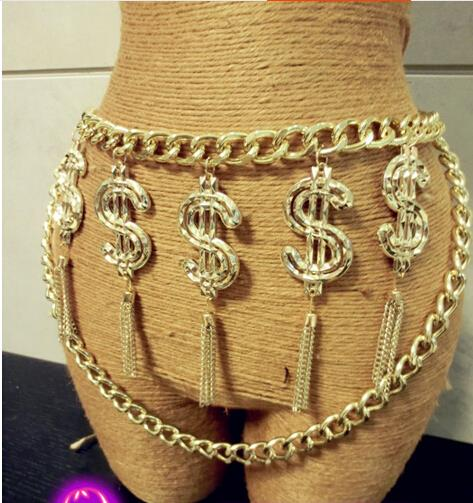 Tassels & Dollas Chain Belt