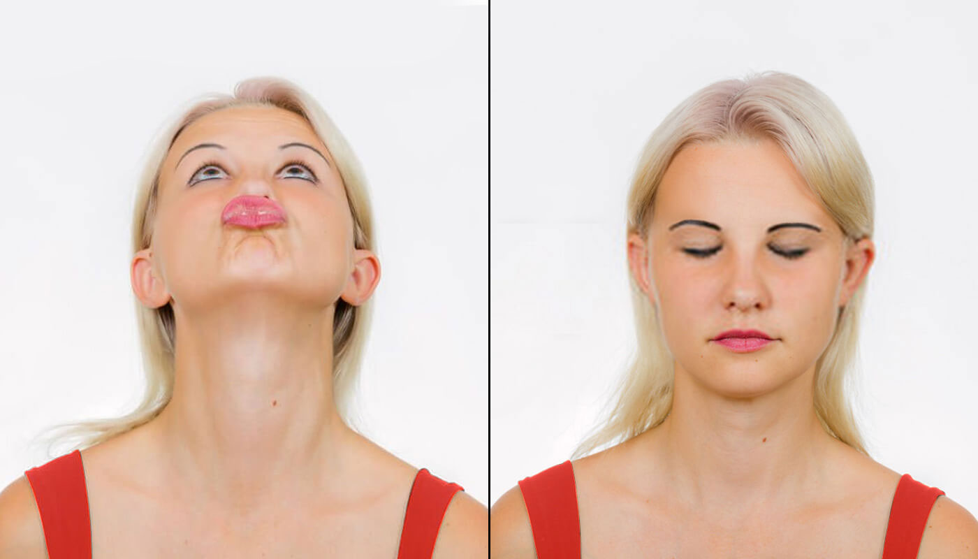 PUCKER EXERCISE