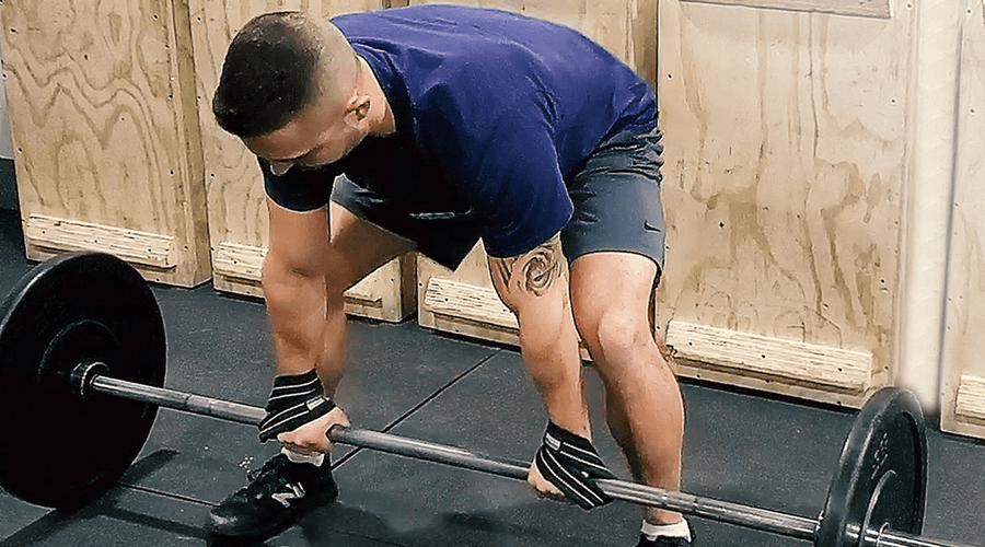 FIGURE 8 LIFTING STRAPS EXERCISES