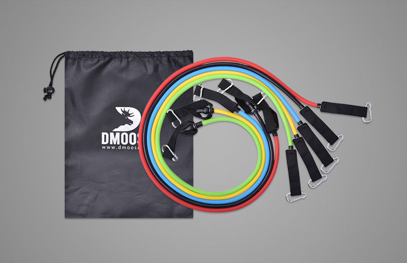 DMOOSE resistance band set for exercise