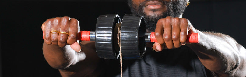 Wrist Exerciser and Forearm Blaster Helps Build Grip