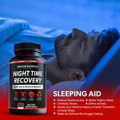 Night Time Recovery - Pills For Muscle Growth