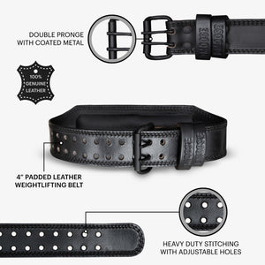Dip Belt with Chain for Weightlifting