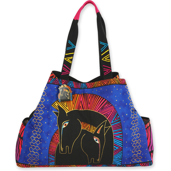 "Laurel Burch ""Embracing Horses"" Large Gap Tote"