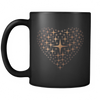 Black 11oz Love Mug - MUSEAE