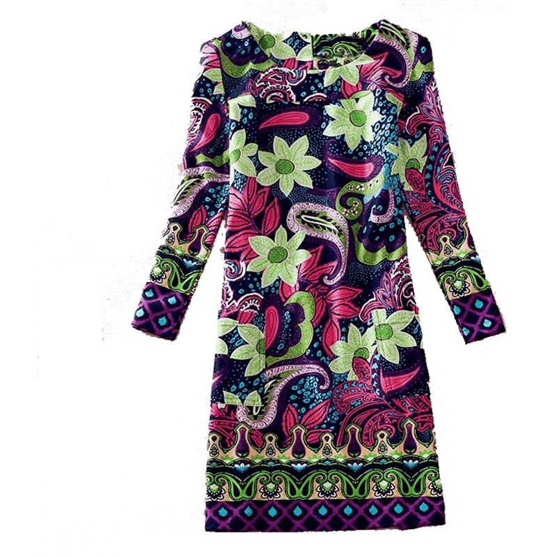Dress Long Sleeves Donatella - MUSEAE