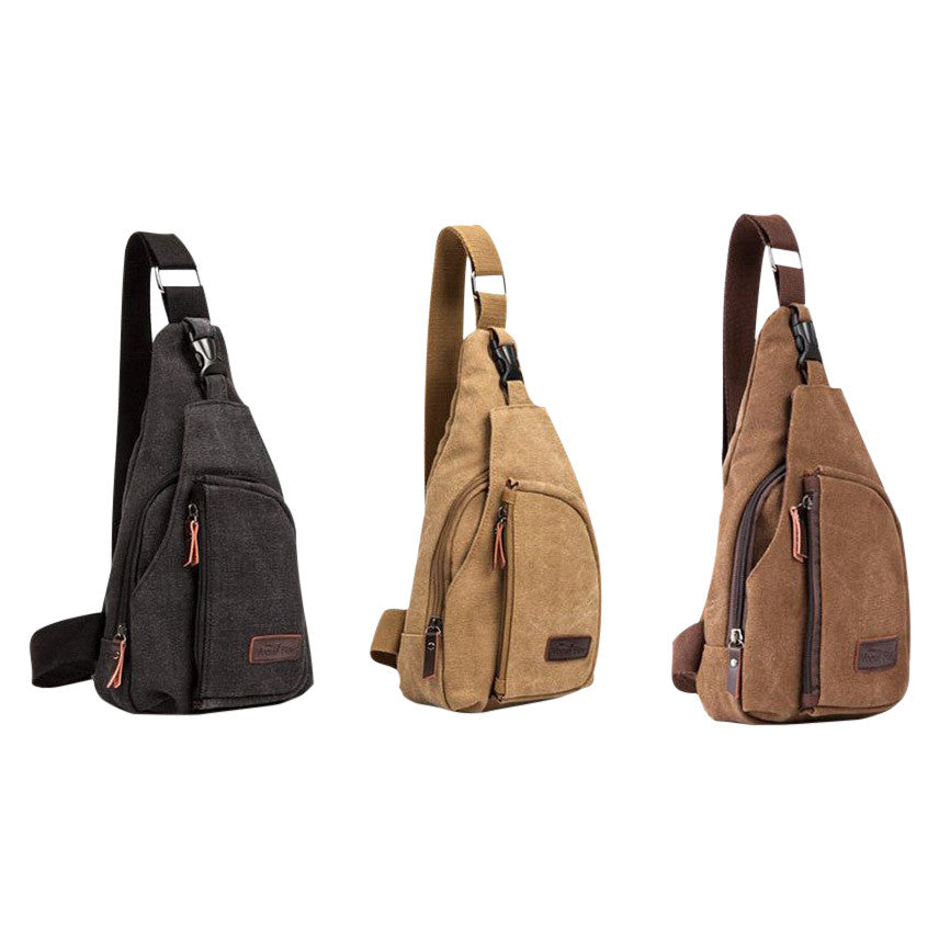 Shoulder Bag Men Brown - MUSEAE