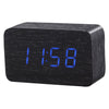 Slab Black Click Clock - MUSEAE