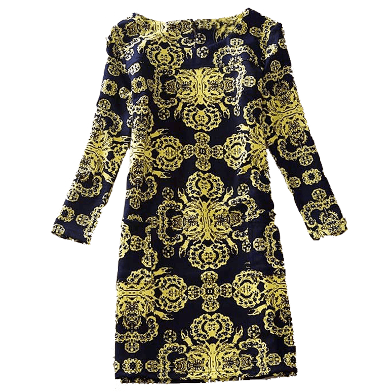 Dress Long Sleeves Nicole Fluo - MUSEAE