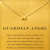 Necklace Angel Wings Gold Dipped - MUSEAE