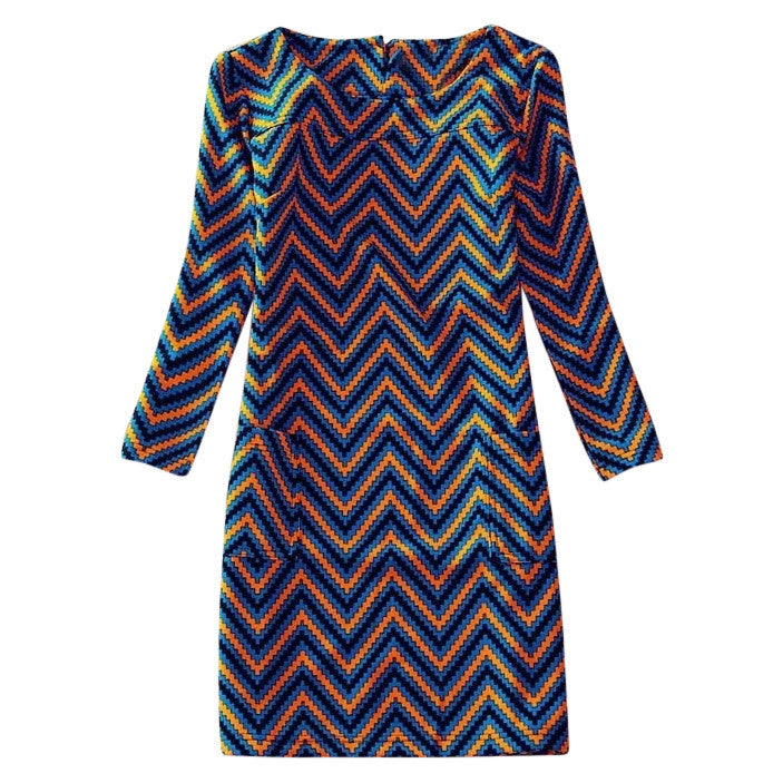 Dress Long Sleeves Anna Waves - MUSEAE