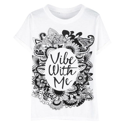 T-shirt Women Vibe With Me - MUSEAE