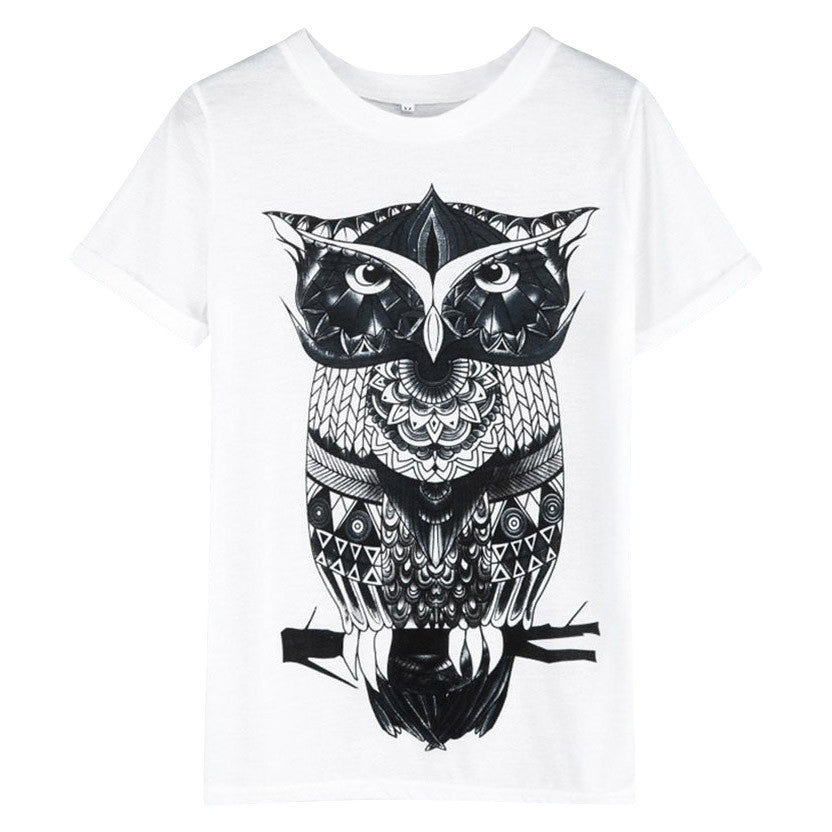 T-shirt Women Watch The Owl - MUSEAE