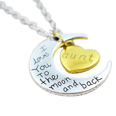 Love Necklace Aunt - MUSEAE