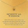 Necklace Spiritual Star Gold Dipped - MUSEAE