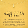Necklace Accomplish Starburst Gold Dipped - MUSEAE