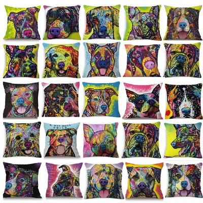 Throw Pillow Cover - German Shepherd Pillow Cover