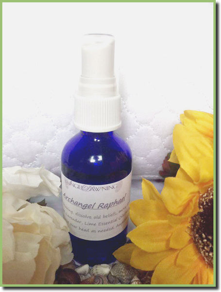 2oz. Archangel Raphael Spray--by AngelDawning