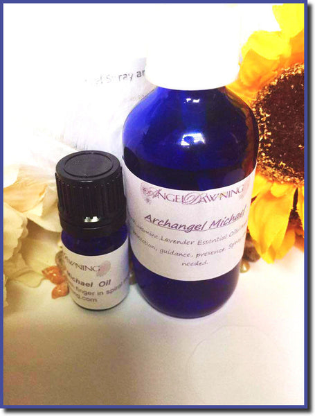 2 oz Archangel Michael Spray and Oil--by AngelDawning