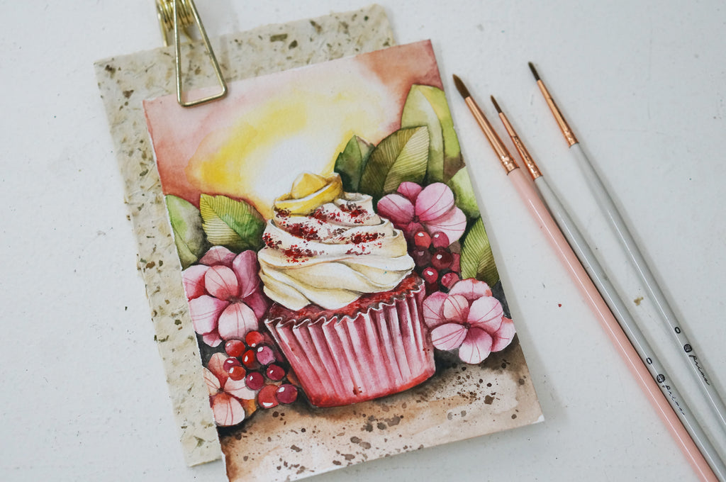November Treats // Watercolour Desserts with Wei Tieng