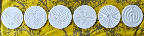 Coaster Set in white Acrylic