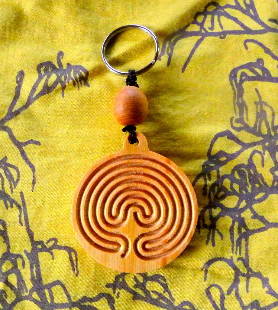 Keyring in Huon Pine