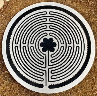Chartres Labyrinth in Aluminium