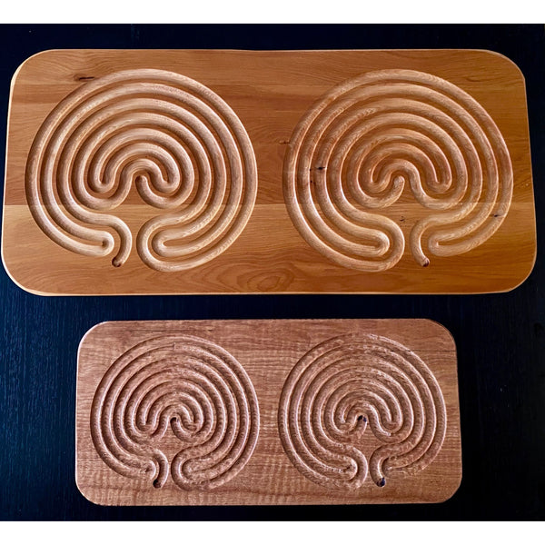 Double Classical Finger Labyrinths
