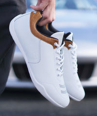 SHIFT Driving Sneaker | White