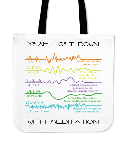Meditation Tote Bags