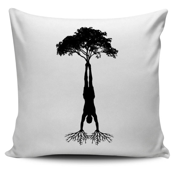 HandStand Tree Pillow Covers