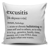 Excusitis Pillow Covers