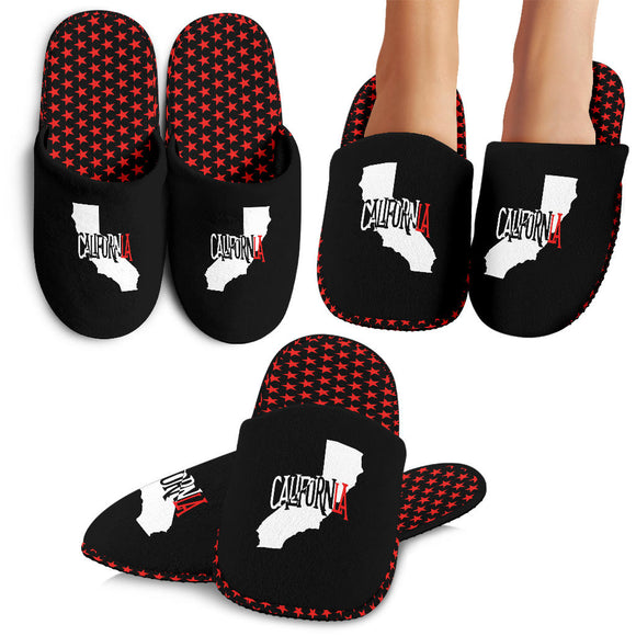 CalifornLA Slippers Womens/Mens/Kids (Stars/State Bear)