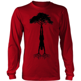 HandStand Tree Long Sleeve Big Print