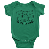 Not Kitten' Around Onesie