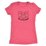 Not Kitten Around Womens Triblend