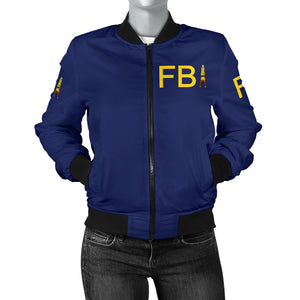 Full Body Integrity Bomber Jacket Womens