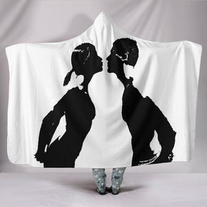 KISS ME Hooded Blanket