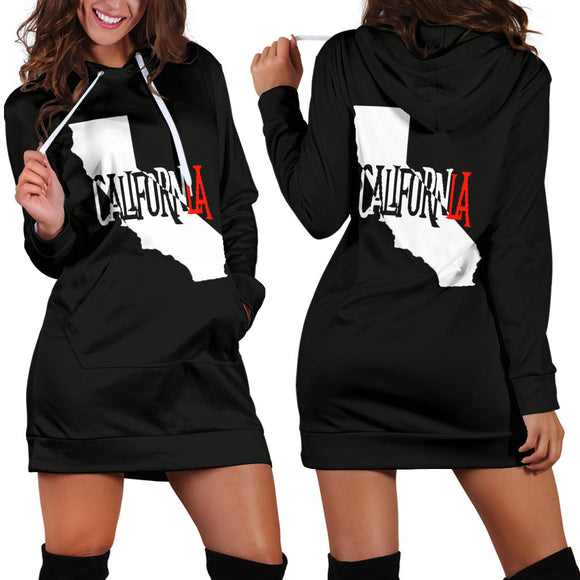 CalifornLA Womens Hoodie Dress