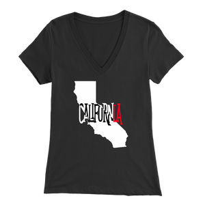 CalifornLA Womens V-Neck