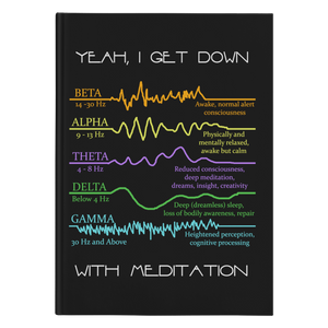 Meditation Hardcover Journal